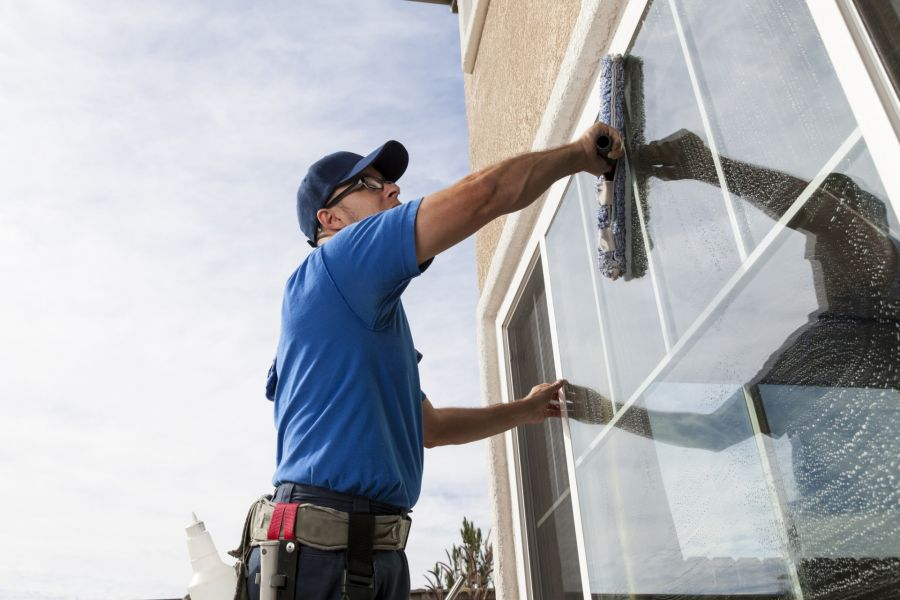Commercial Window Cleaning by Sanders Immaculate Cleaning Inc